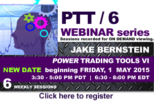 Jake Bernstein | Power Trading Tools VI Webinar Series