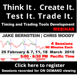 Jake Bernstein with Chris Moody | Timing and Trading Tools Development Webinar Series