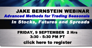 Jake Bernstein |Advanced Methods for Trading Seasonals 