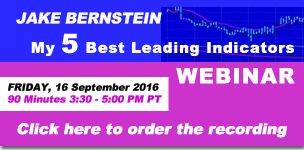 Jake Bernstein | My 5 Best Leading Indicators WEBINAR