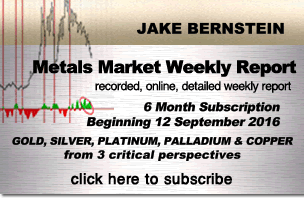 Jake Bernstein |  Metals Market Weekly - Recorded, Online, Detailed