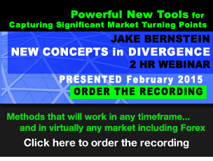 Jake Bernstein | New Concepts in Divergence Webinar
